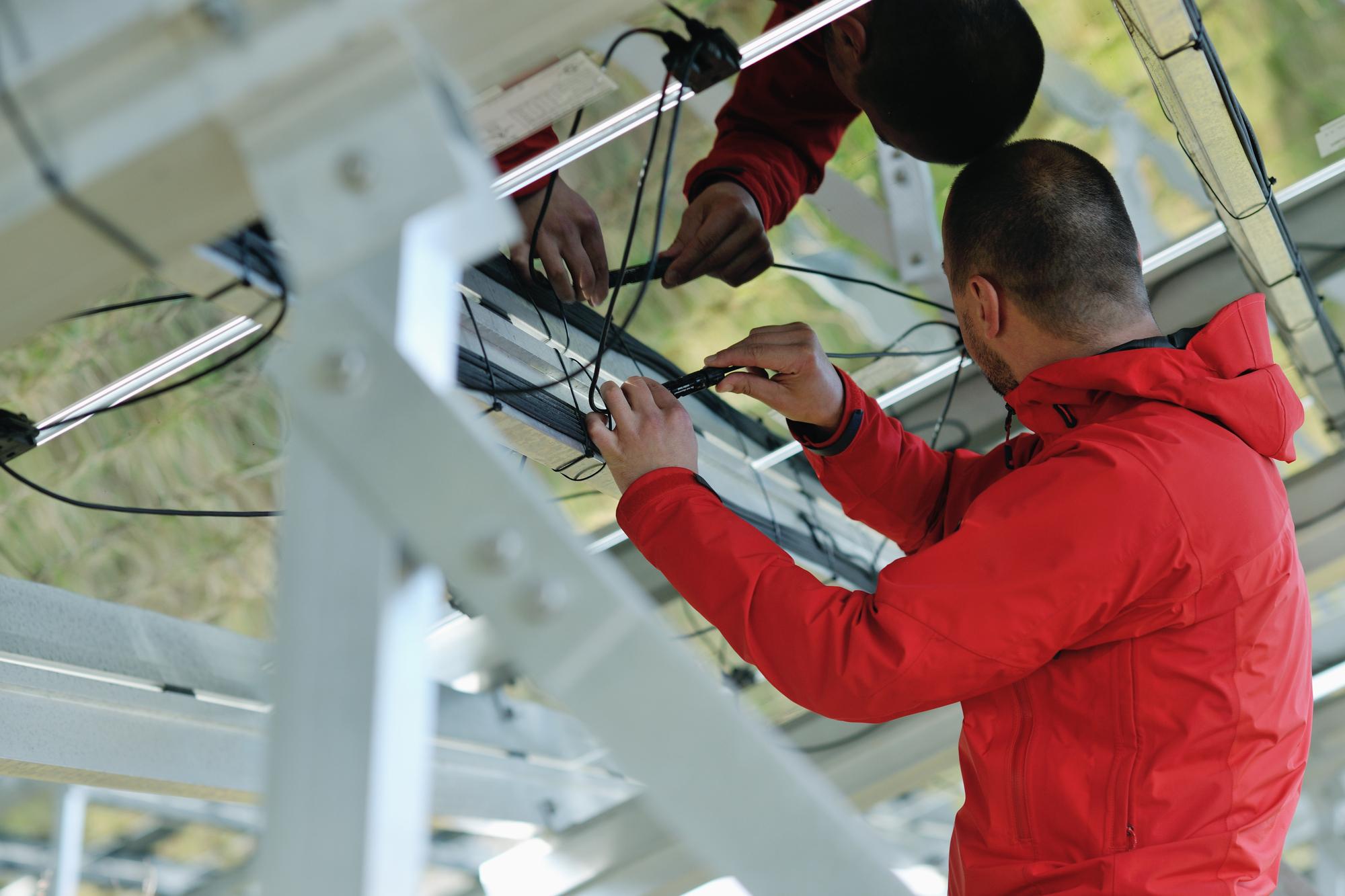 ремонт солнечных модулей