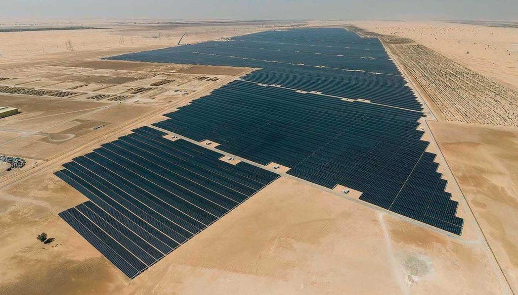 Крупнейшая в мире солнечная электростанция Noor Abu Dhabi ( Фото №6 )