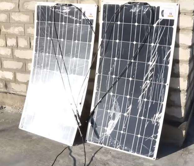 гибкие солнечные панели из китая