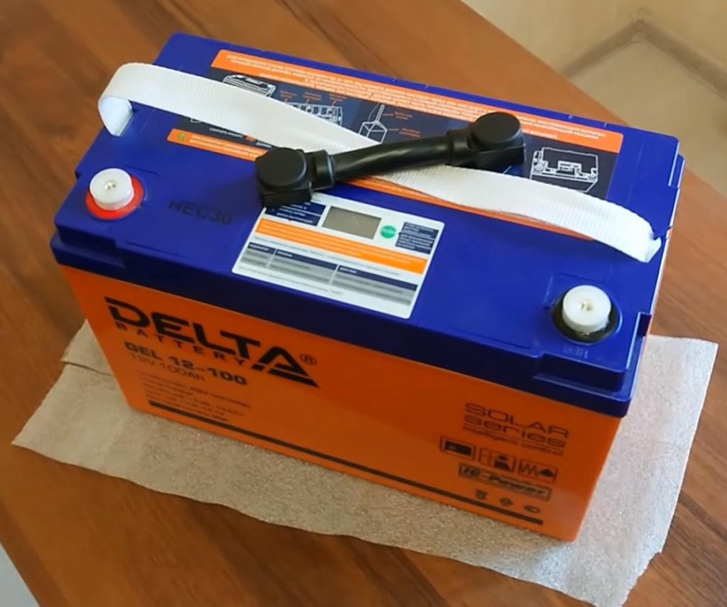 Гелевые аккумуляторы для солнечных батарей