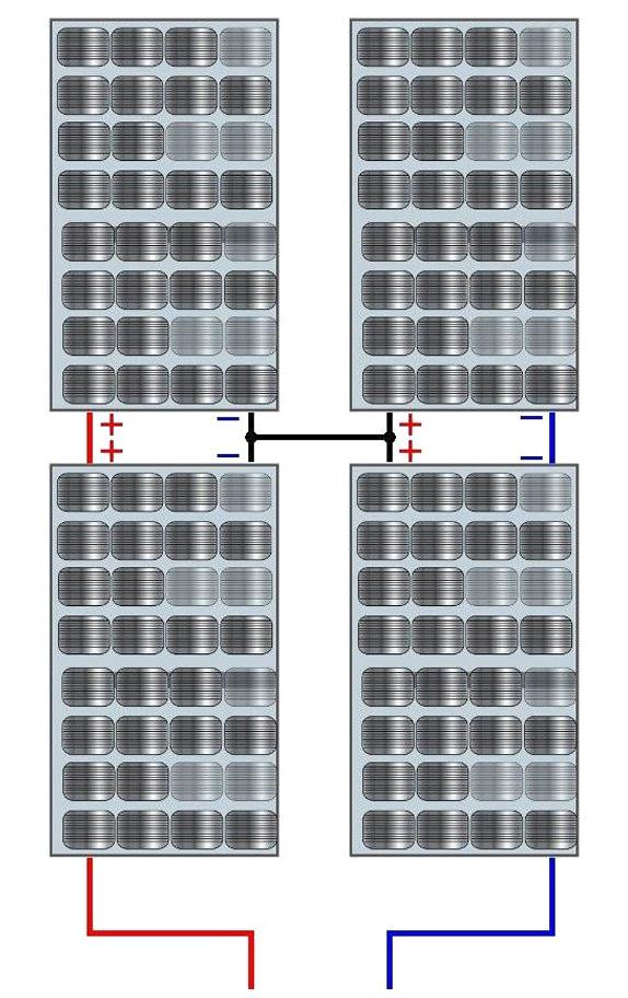 Последовательно-параллельном соединении