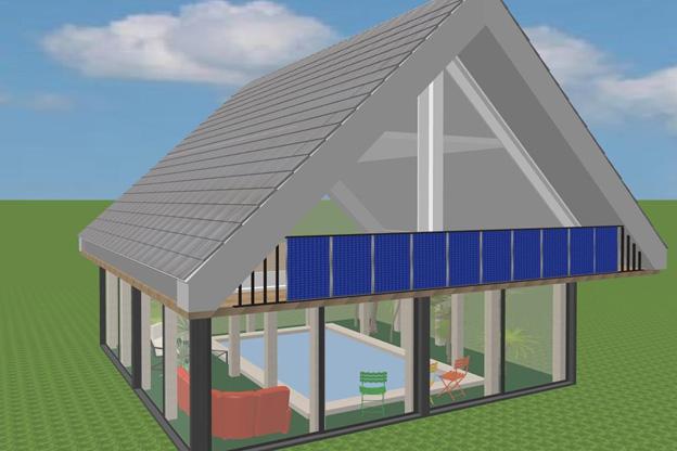 Балконы для солнечных элементов