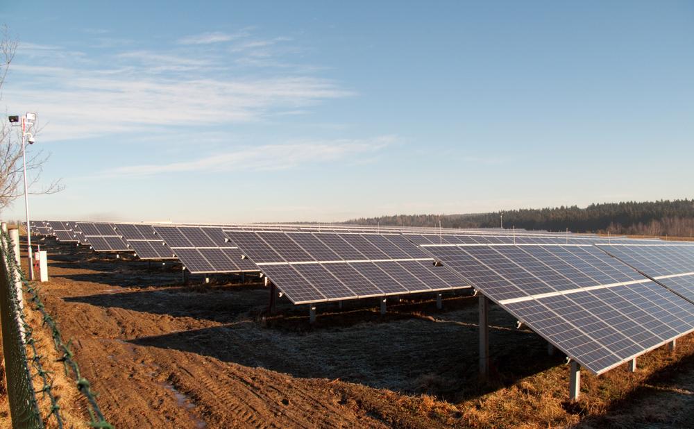 фото-солнечная электростанция